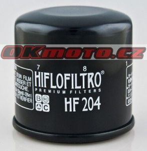 Olejový filtr HifloFiltro HF204 - Honda GL 1800 Gold Wing, 1800ccm - 01-16