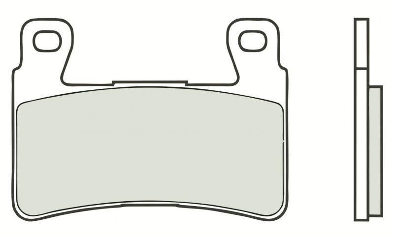 Přední brzdové destičky Brembo 07HO45SC - Honda CBR 929 RR Fireblade, 929ccm - 00-01 Brembo (Itálie)