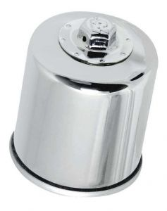 Olejový filtr K&N (Chrom) - Honda CB400 Super Four, 400ccm - 02>02