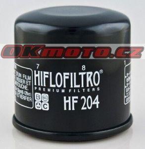 Olejový filtr HIFLO FILTRO HF204 - Honda CB 600 S Hornet, 600ccm - 03-04