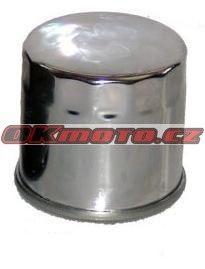 Olejový filtr HifloFiltro HF204C (Chrom) - Yamaha MT-03, 321ccm - 16-17