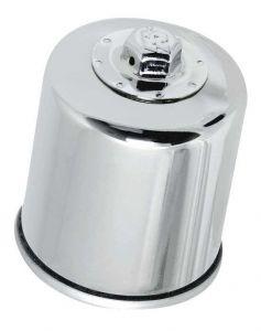 Olejový filtr K&N KN-303C (Chrom) - Honda XL600V Transalp, 600ccm - 87>00