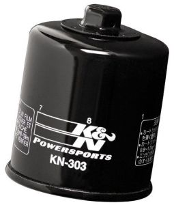 Olejový filtr K&N KN-303 - Honda VT750C Shadow, 750ccm - 99>02