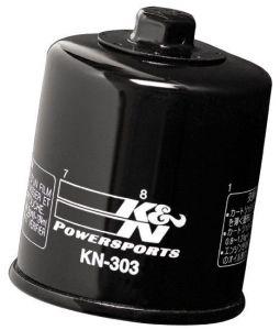 Olejový filtr K&N KN-303 - Honda XRV 750 Africa Twin, 750ccm - 90-03