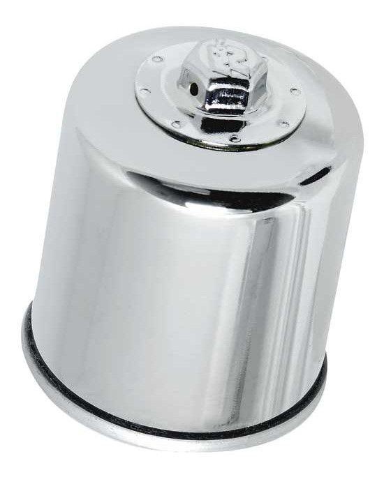 Olejový filtr K&N KN-303C (Chrom) - Yamaha VMX1700 V-Max, 1700ccm - 09-16 K&N (USA)