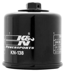 Olejový filtr K&N KN-38 - Suzuki GSX 1300 R Hayabusa, 1300ccm - 99-18