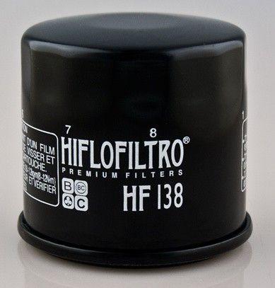 Olejový filtr HIFLO FILTRO HF138 - Suzuki LT-A500F Quadrunner, 500ccm - 98>02