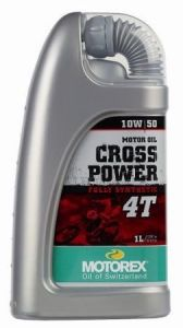 MOTOREX - Cross Power 4T 10W/50 - 1L
