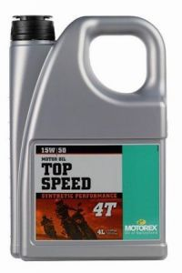MOTOREX - Top Speed 4T 15W/50 - 4L