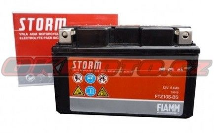 Baterie Fiamm FTZ10S-BS - Honda CBR 1000 RR Fireblade, 1000ccm - 04-07 Fiamm (Itálie)