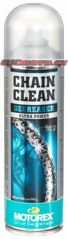 MOTOREX - Chain Clean DEGREASER - 500ml MOTOREX (Švýcarsko)