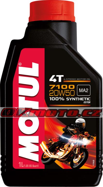 MOTUL - 7100 4T 20W-50 MA2 - 1L MOTUL (Francie)