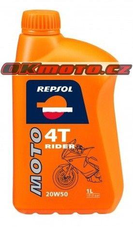 REPSOL - Moto Rider 4T 20W50 - 1L REPSOL (Španělsko)