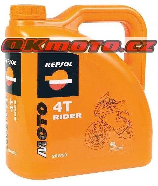 REPSOL - Moto Rider 4T 20W50 - 4L REPSOL (Španělsko)