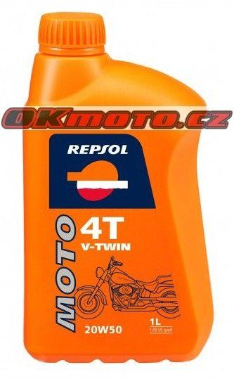 REPSOL - Moto V-TWIN 4T 20W50 - 1L REPSOL (Španělsko)
