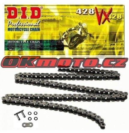 Řetěz DID - 428VX - X-ring - 122 článků D.I.D (Japonsko)