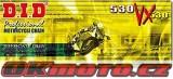 Řetěz DID - 530VX - X-ring - 114 článků