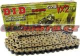 Řetěz DID - 520VX2 - X-ring - 100 článků-zlatý