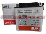 Motobaterie Fiamm FB10L-B, 12V, 11Ah