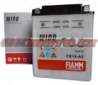 Motobaterie Fiamm FB14-A2, 12V, 14Ah