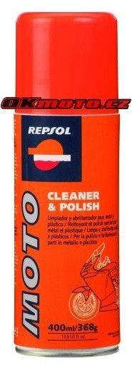 REPSOL - Moto Cleaner & Polish - 400ml REPSOL (Španělsko)