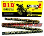 Řetěz DID - 520DZ2 - 114 článků-zlatý