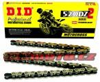 Řetěz DID - 520DZ2 - 118 článků-zlatý