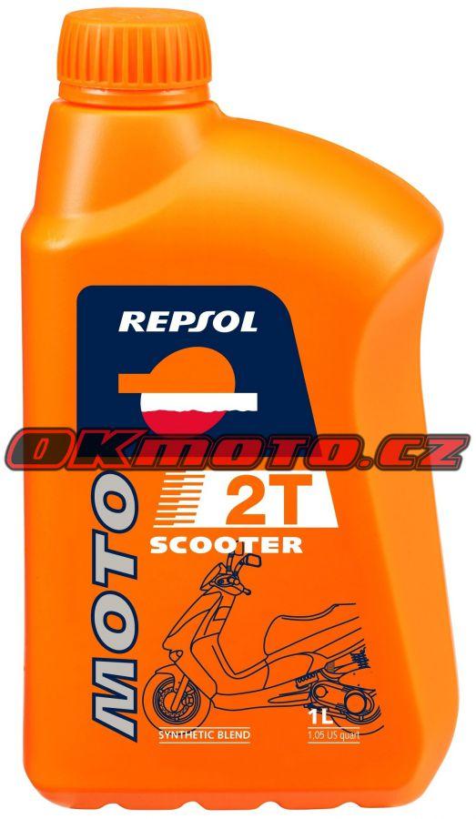REPSOL - Moto Scooter 2T - 1L