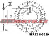 Řetězová sada D.I.D - 520ERT3 GOLD - Honda CRE 450 F, 450ccm - 02>05 D.I.D (Japonsko)