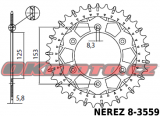 Řetězová sada D.I.D - 520MX GOLD - Honda CRE 450 F, 450ccm - 02>05 D.I.D (Japonsko)