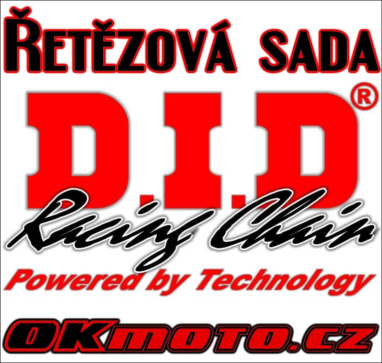Řetězová sada D.I.D - 520VO O-ring - Kawasaki KLX 650 (C1-C4), 650ccm - 93>98 D.I.D (Japonsko)