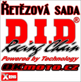 Řetězová sada D.I.D - 520VX3 X-ring - KTM 200 EXC Enduro, 200ccm - 98>99