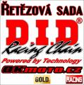 Řetězová sada D.I.D - 520MX GOLD - Kawasaki KLX 400 R, 400ccm - 03>07 D.I.D (Japonsko)