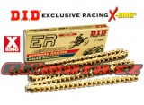 Řetěz DID - 520ERV3 EXCLUSIVE RACING - X-ring - 114 článků-zlatý