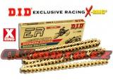 Řetěz DID - 520ERV3 EXCLUSIVE RACING - X-ring - 120 článků-zlatý
