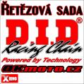 Řetězová sada D.I.D - 520VX3 X-ring - Honda NC 750 X DCT, 750ccm - 16-17