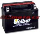 Motobaterie Unibat CBTX9-BS - Honda CD250 U, 250ccm - 85>89