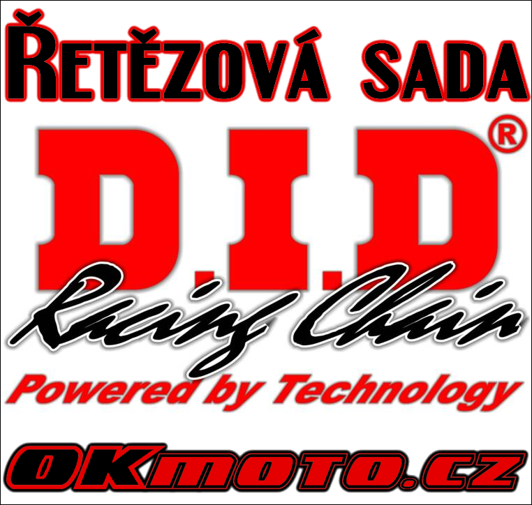 Řetězová sada D.I.D - 520V O-ring - Honda NC 750 X, 750ccm - 14-17 D.I.D (Japonsko)