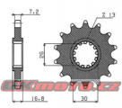 Řetězové kolečko SUNSTAR - Honda CRF 1000 L Africa Twin, 1000ccm - 16-18