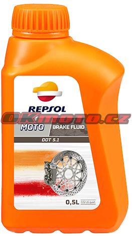 REPSOL - Moto DOT 5.1 Brake Fluid - 500ml REPSOL (Španělsko)