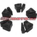 Tlumicí gumy do unašeče rozety - Honda CBX 750 F, 750ccm - 84-86