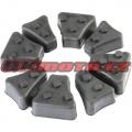 Tlumicí gumy do unašeče rozety - Yamaha TT 600 E, 600ccm - 96-97