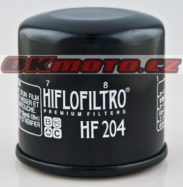 Olejový filtr HIFLO FILTRO HF204 - Triumph 1050 Sprint GT / SE, 1050ccm - 11-18