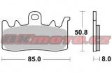 Přední brzdové destičky Brembo 07BB38SA - Ducati 950 Multistrada, 950ccm - 17-18