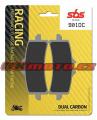 Přední brzdové destičky SBS 901DC - BMW HP4, 1000ccm - 12-16
