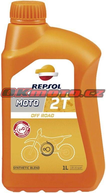 REPSOL - Moto Off Road 2T - 1L REPSOL (Španělsko)