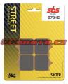 Přední brzdové destičky SBS 870HS - BMW S1000R, 1000ccm - 14-18