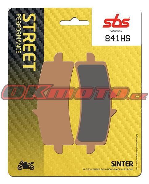 Přední brzdové destičky SBS 841HS - Ducati 1260 S Multistrada, 1260ccm - 18-19 SBS (Bendix)