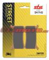 Přední brzdové destičky SBS 947HS - Honda CBR 1000 RR, 1000ccm - 17-18