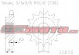Řetězové kolečko ESJOT - Ducati 1260 Multistrada, 1260ccm - 18-19